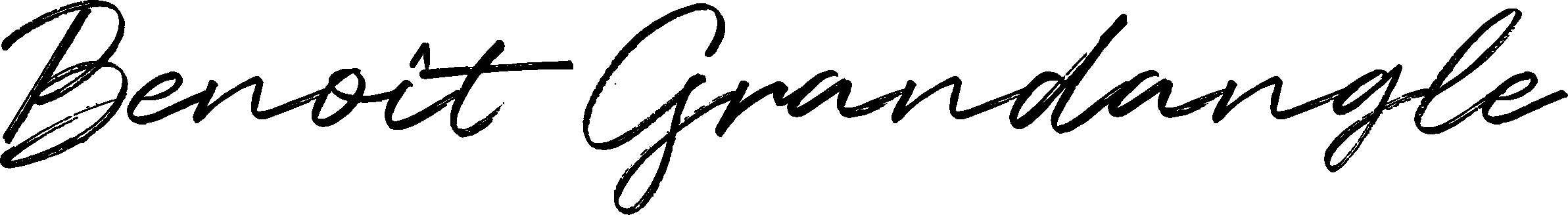 signature benoit grandangle
